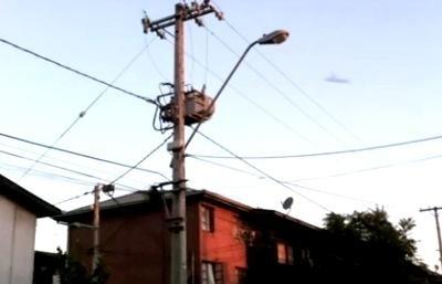 Video de posible ovni tras terremoto 7,1 del Maule de Chile 10