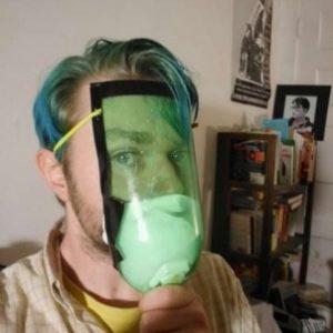 Manual para crear mascara anti gas casera con una botella de plástico 21