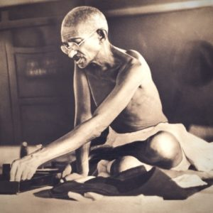 Interior arresta a Gandhi 25