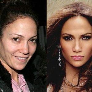 Sin maquillaje: las caras reales de las famosas 4