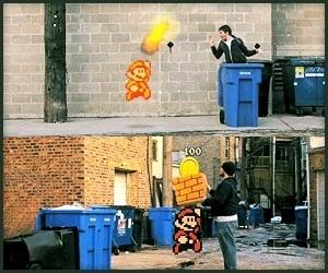 Super Mario Bros en la vida real 10