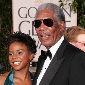 ¿Morgan Freeman se casa con su nietrastra? 21