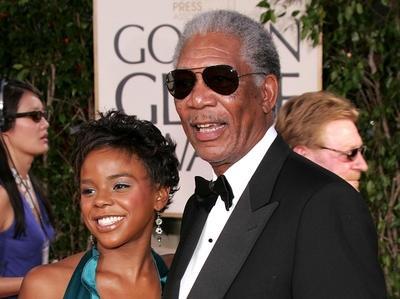 65a557993bf0bb6f7667410f1930860b - ¿Morgan Freeman se casa con su nietrastra?