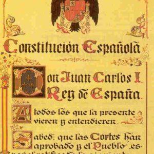 Constitución española: Artículo 1 7