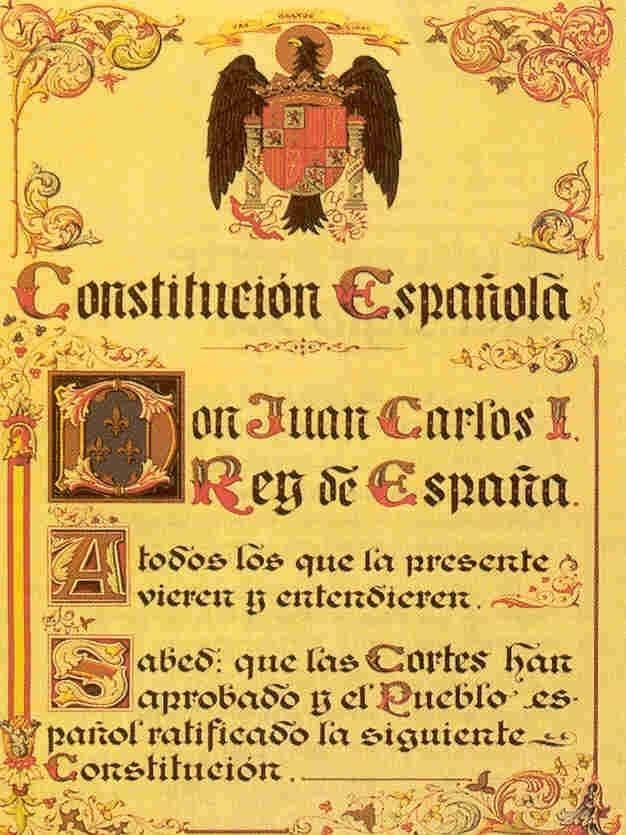 Constitución española: Artículo 1 11