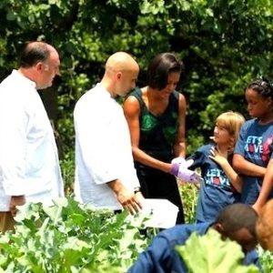 José Andrés, cocinando con sus hijas en La Casa Blanca 36