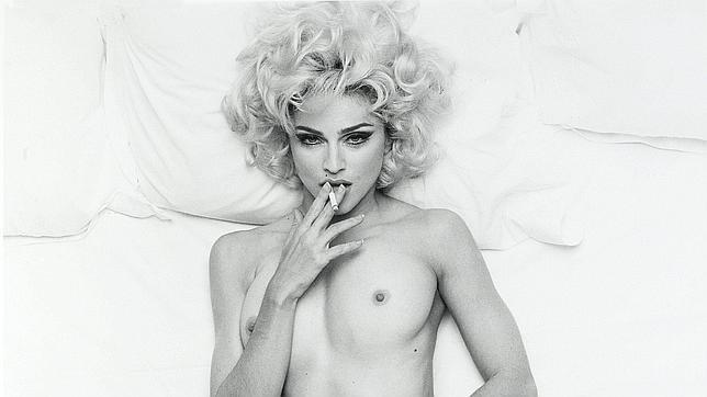 Sale a subasta una foto de Madonna desnuda 9