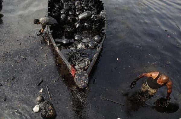 Derrame de petroleo en Venezuela