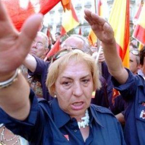 Los ultras derechistas de la Falange podrán manifestarse durante la final de la Copa del Rey 8