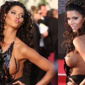 Micaela Schaefer, casi desnuda en el estreno de Men in Black 3 23