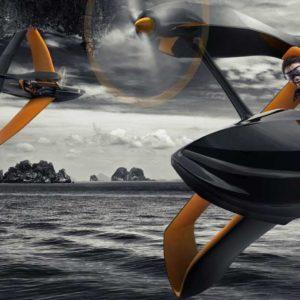 FlyNano, un económico hidroavión ultraligero con motor eléctrico 39