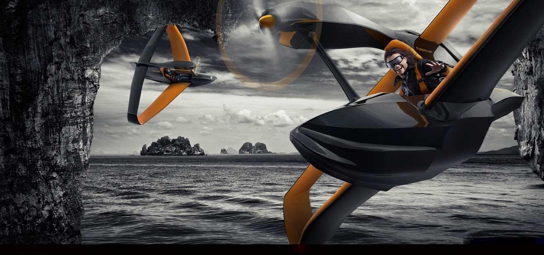 FlyNano, un económico hidroavión ultraligero con motor eléctrico 13