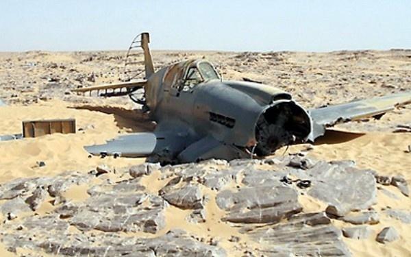 246e4d943d6f04aeb5a14dcdc6215dfe - Hallan un avión de la Segunda Guerra Mundial que se estrelló en el Sahara