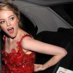 Emma Stone sufrió vergonzoso incidente por usar un vestido pequeño 6