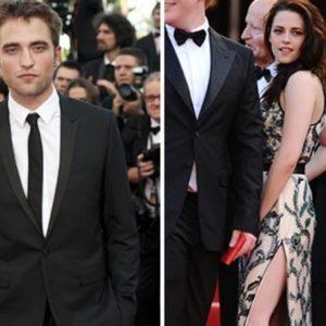 El apasionado beso de Kristen Stewart y Robert Pattinson en Cannes 16