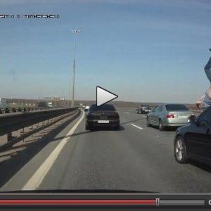 Atropellado en la autopista 11