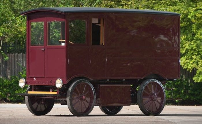 Coche eléctrico de 1909 vendido en eBay por 100 Mil euros 12