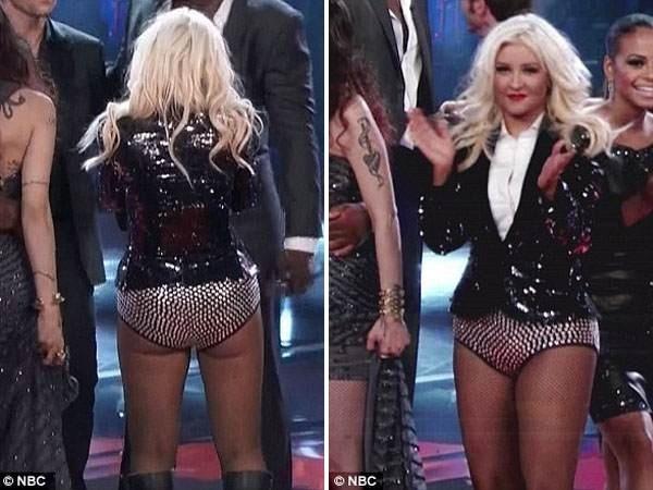Christina Aguilera, con sobrepeso y poca ropa 2