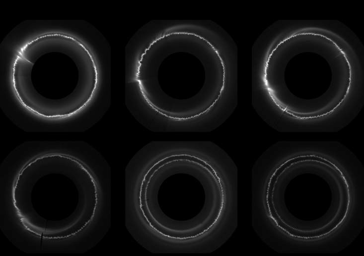Masas de hielo de 800 metros atraviesan uno de los anillos de Saturno 14