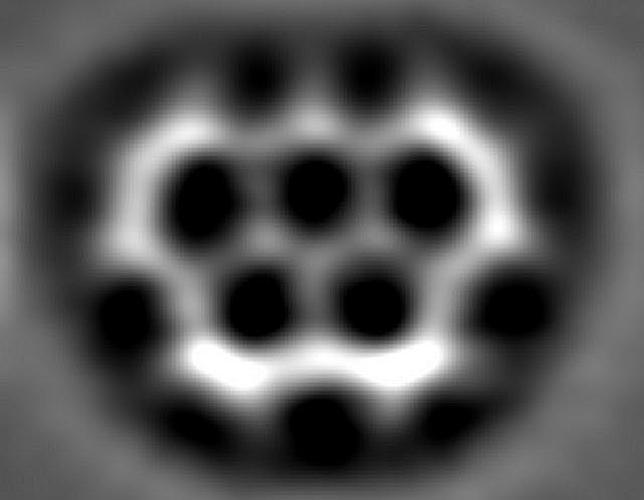a6988835324d6263d4c9a4f8f9eda2ba - Crean una molécula con la forma de los aros olímpicos