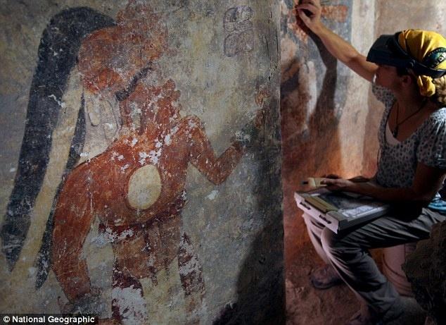 Descubierto el calendario maya más antiguo en unas ruinas de Guatemala 1