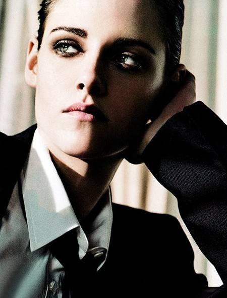 kristen1 - Asombroso cambio: Kristen Stewart se viste de hombre para autoseducirse…