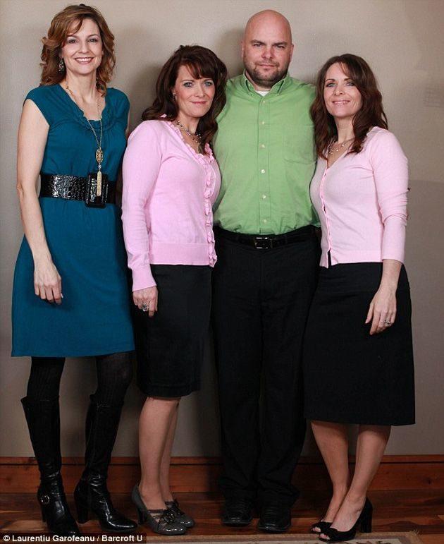 noticias Se casó con dos gemelas y una prima: tienen 24 niños