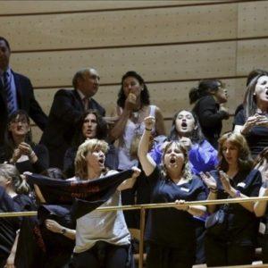 """Las mujeres de los mineros, expulsadas del Senado """"como delincuentes"""" 19"""