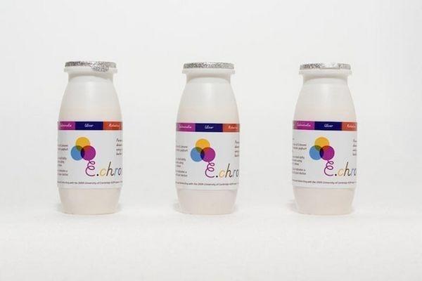 203fce17008e9df65338f1cafaae4da0 - Los científicos que coloreaban heces con bacterias sacan un yogur líquido para detectar enfermedades
