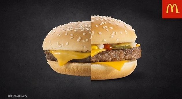 30ea27050651bc7a273db84057b53dae - El truco de McDonald's para que sus hamburguesas parezcan más apetecibles
