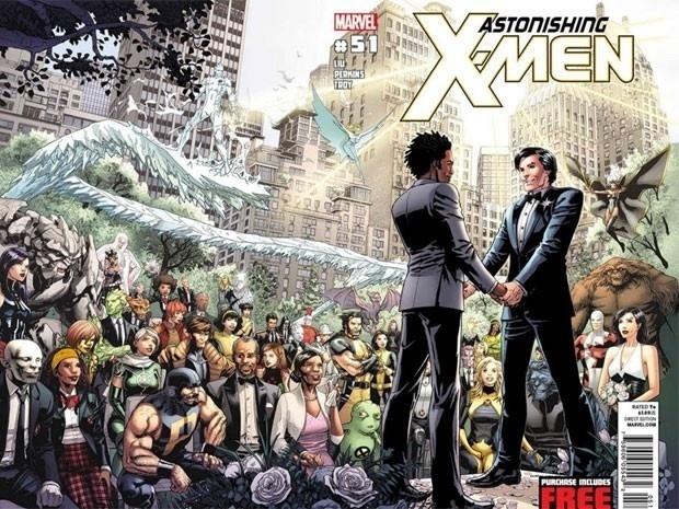 443d8124a98eeb875f9c56a79c8264f8 - Indignación ultracatólica porque solo un superhéroe de cómic ha rechazado asistir a la primera boda gay de los X-Men