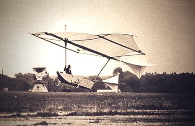 Los hermanos Wright no fueron los primeros en hacer un vuelo tripulado 12