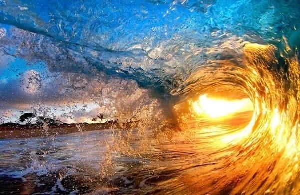 Dentro de las impresionantes olas de Hawai (Fotos) 11