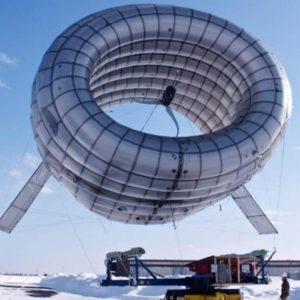 El MIT prueba un aerogenerador que flota en el aire 20