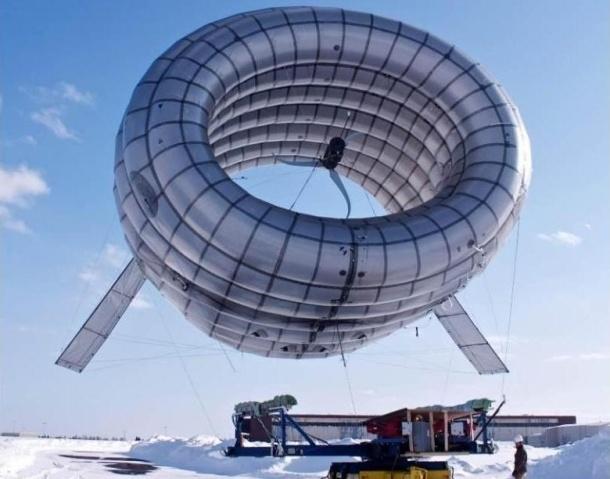 El MIT prueba un aerogenerador que flota en el aire 14