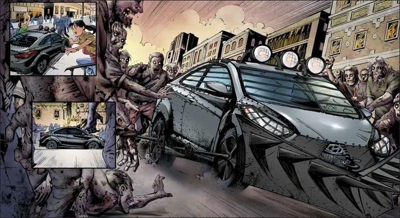"""Hyundai Elantra GT """"The Walking Dead"""" Edition"""