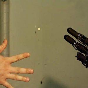 Janken: El robot que es invencible jugando piedra, papel y tijeras 25