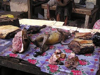 Comer Carne Mono