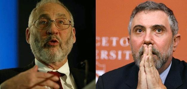 Dos premios Nobel de Economía, Stiglitz y Krugman, dicen que Europa va por el camino equivocado 10