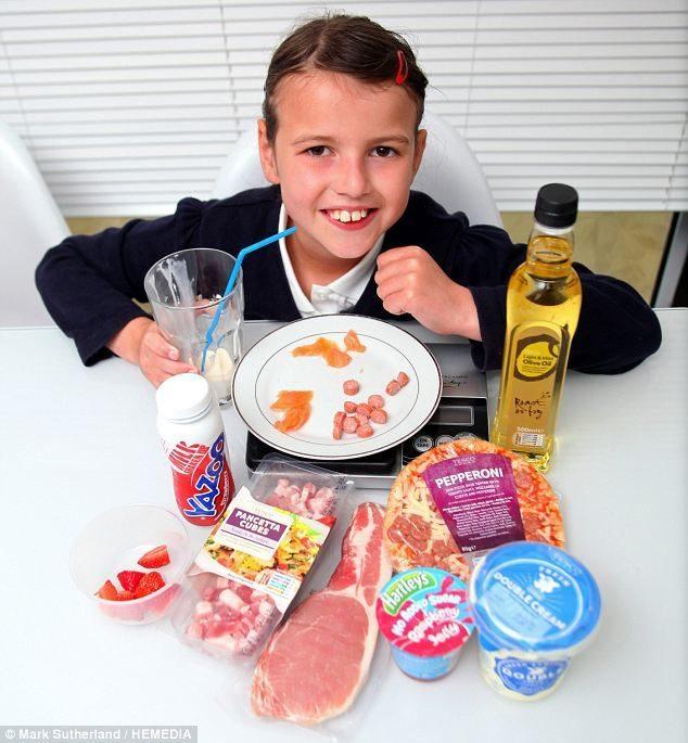 Niña de 9 años debe alimentarse a base de grasa para sobrevivir 16