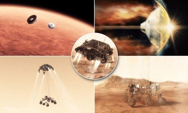 El descenso de la misión Curiosity en Marte, todo un reto de ingeniería 16