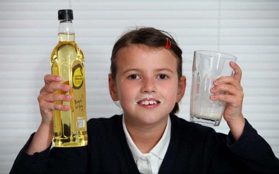 Niña de 9 años debe alimentarse a base de grasa para sobrevivir 13