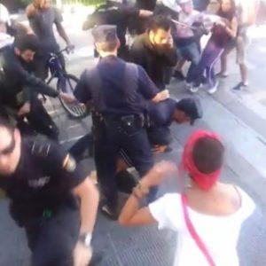 Butal actuación de la policía en Gran Canaria contra los jóvenes solidarios con los mineros 21