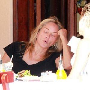 Hasta Sharon Stone se pone fea cuando se enfada 6
