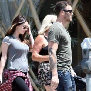 Así luce Megan Fox con su embarazo 28