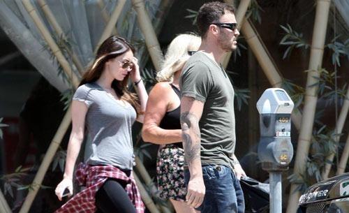 f6e558386fdb58e34c89a6e6ff6c5e37 - Así luce Megan Fox con su embarazo