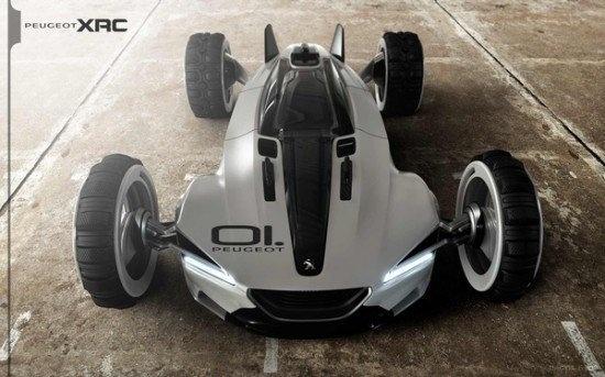 Peugeot XRC Concept Car 5