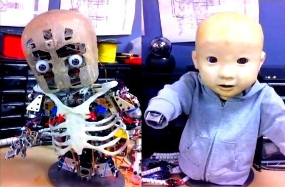 Proyecto Affetto: El terrible bebé robot quiere un abrazo 4