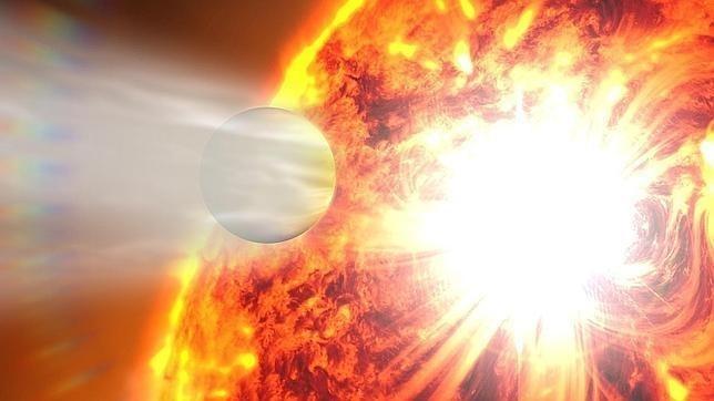 Llamarada solar fulminó a un planeta: no quedo ni rastro 4
