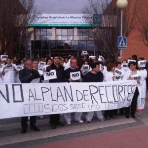 #recortes Cospedal quita el agua mineral a los enfermos de hospitales para ahorrar 48